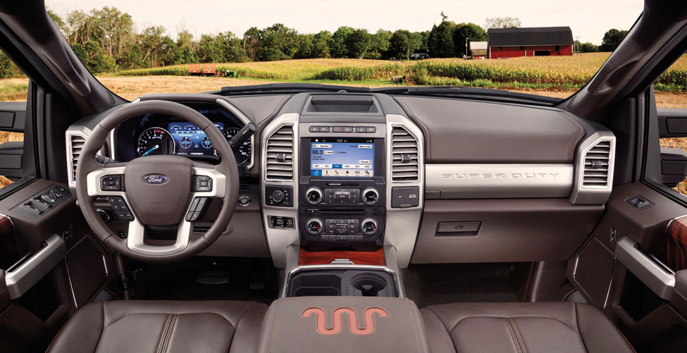 Ford-superduty-interior